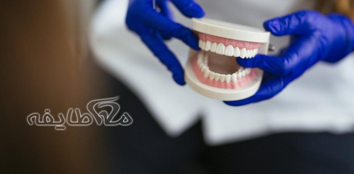 دندان مصنوعی سازمان گوشت
