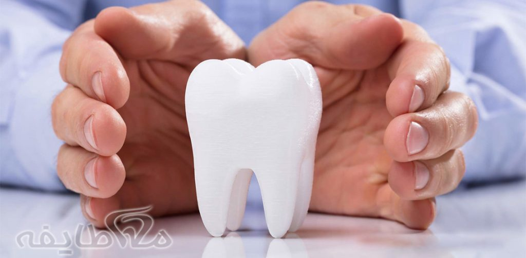 دندان مصنوعی در پارک پلیس