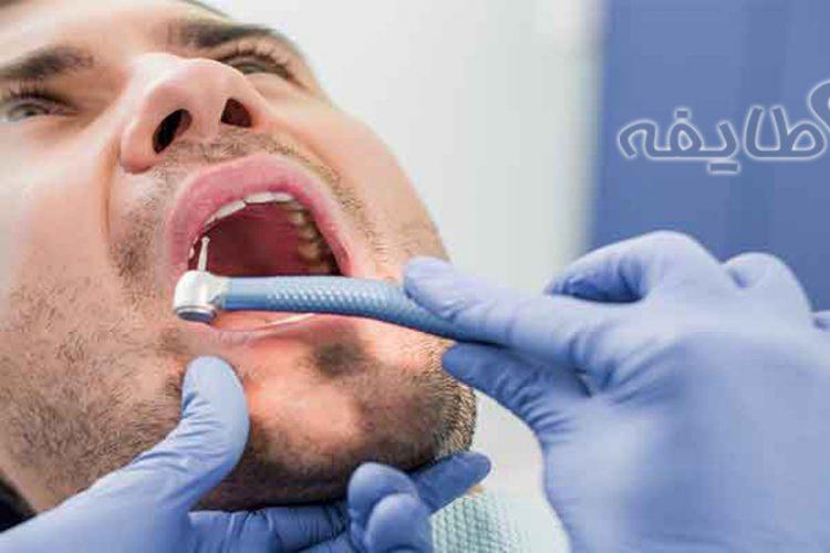 جراحی دندان نهفته در هنگام